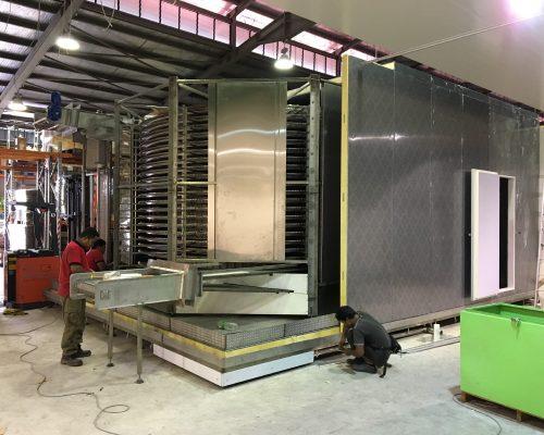 IQF sprial freezer
